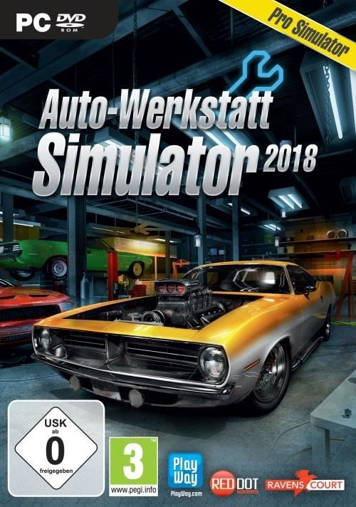 auto werkstatt simulator 2018 pc pc spiele computeruniverse. Black Bedroom Furniture Sets. Home Design Ideas