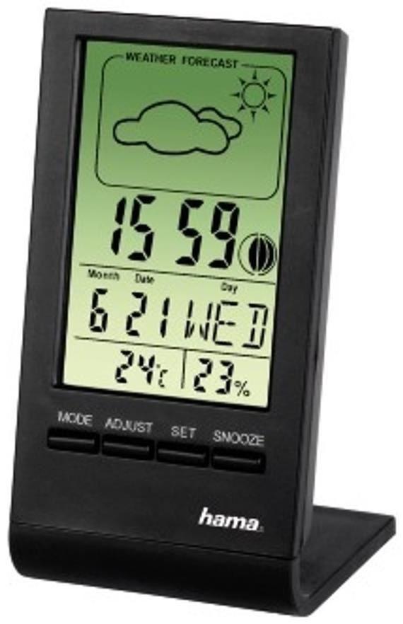 Hama LCD-Thermo-/Hygrometer TH-100 - Preisvergleich