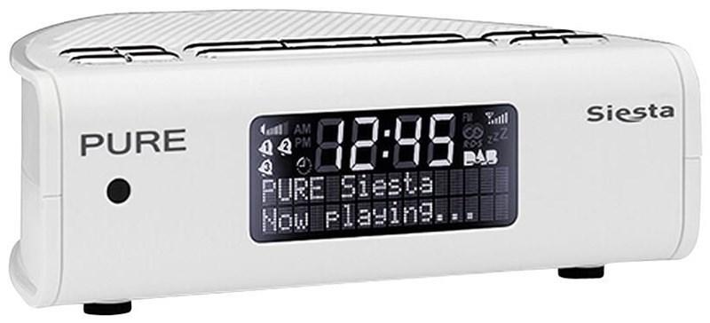 Pure Siesta weiß (Radiowecker) VL-61380