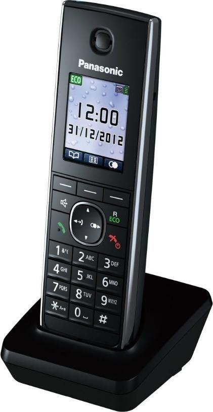Panasonic KX-TGA855EXB Mobilteil schwarz (Telefon) KXTGA855EXB
