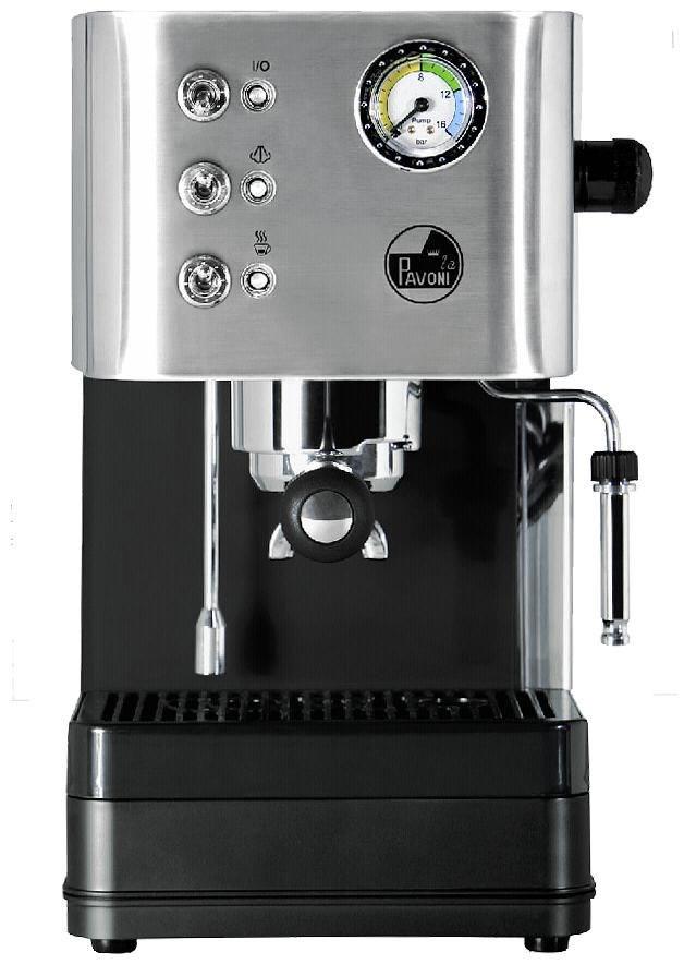 la pavoni puccino pcl espressomaschine siebtr ger silber espressomaschinen computeruniverse. Black Bedroom Furniture Sets. Home Design Ideas