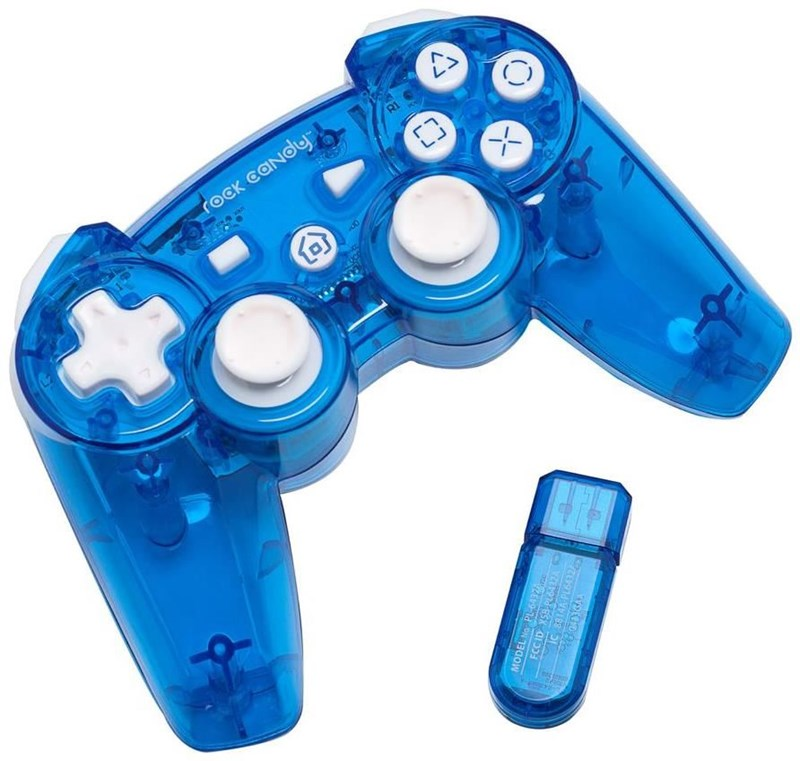 PDP Rock Candy blau wireless Controller (PS3)