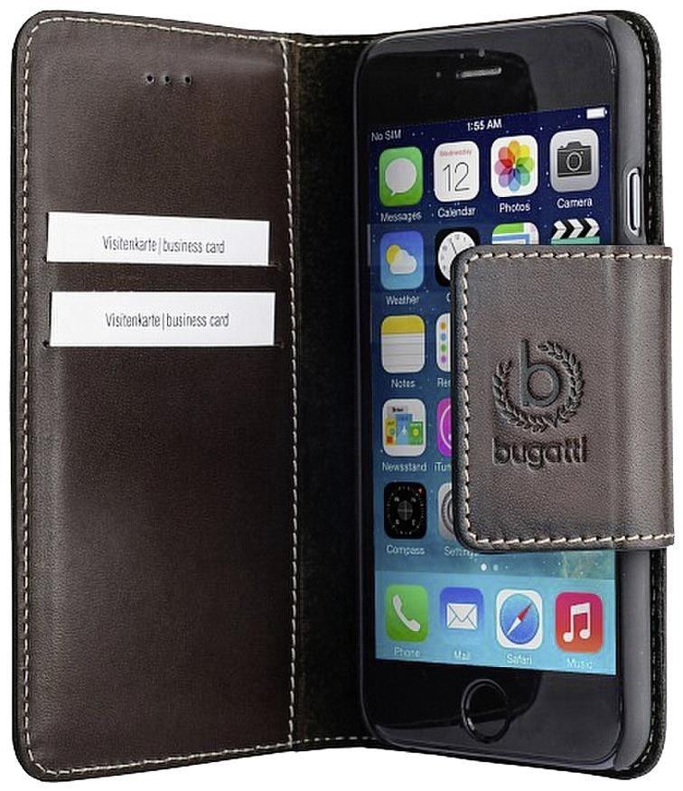 bugatti bookcover amsterdam f r apple iphone 6 plus braun. Black Bedroom Furniture Sets. Home Design Ideas