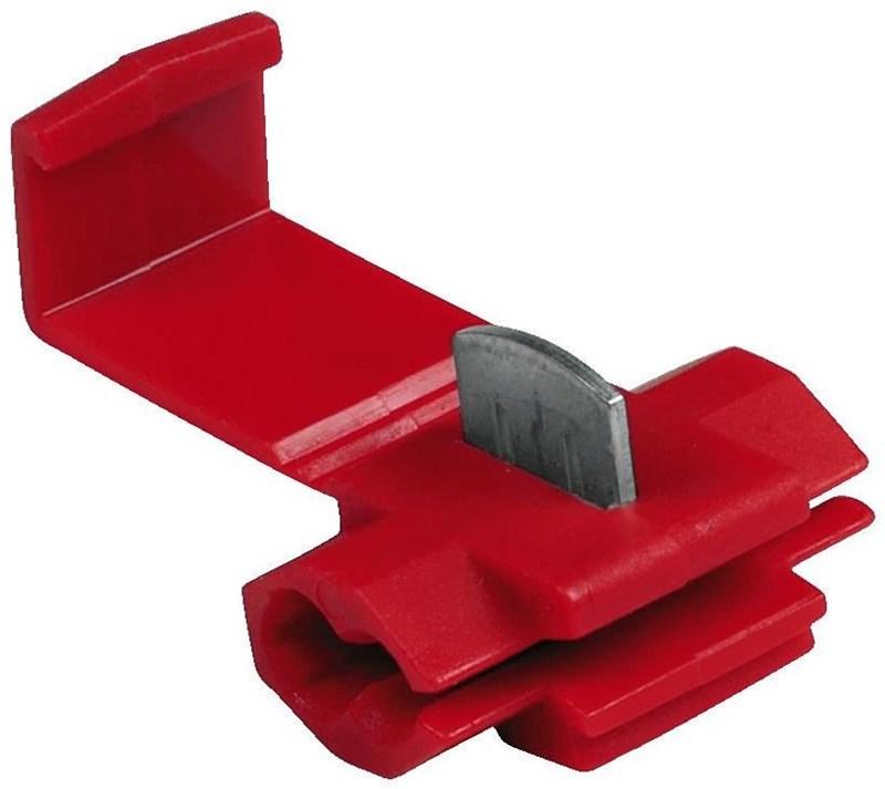 Hama Klemmverbinder, Rot, 5 Stück