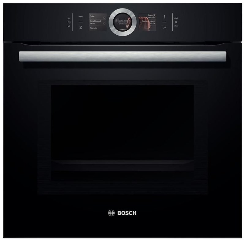 bosch hmg6764b1 backofen mit mikrowelle schwarz wall ovens built in ovens computeruniverse. Black Bedroom Furniture Sets. Home Design Ideas