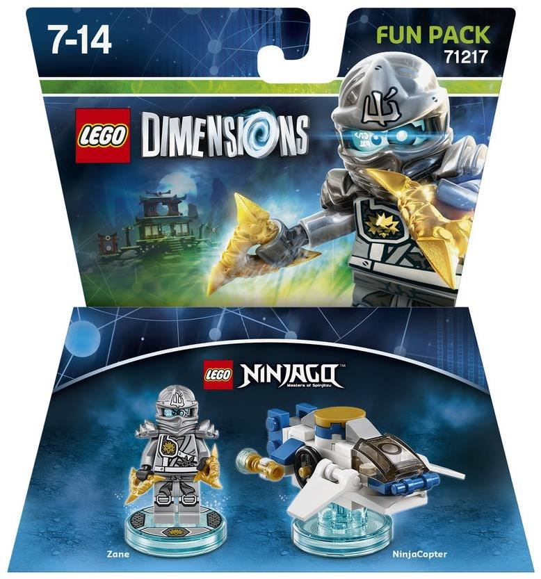 LEGO® Dimensions Fun Pack Ninjago Zane (WIIU PS3 X360 PS4 XONE)