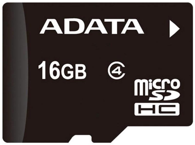 ADATA microSDHC (Class 4) 16GB AUSDH16GCL4-R