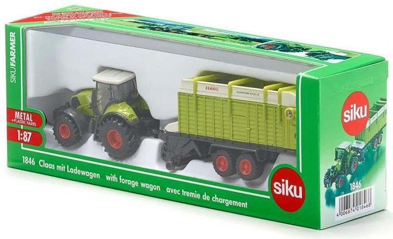 SIKU Claas mit Ladewagen 1846 - Preisvergleich