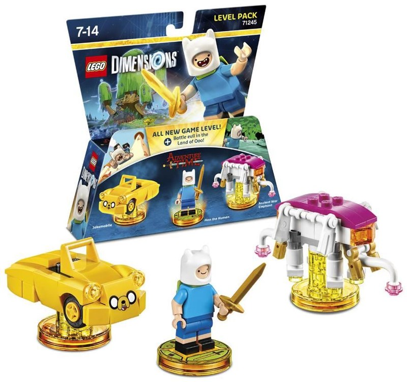 lego dimensions adventure time team pack wii u ps3 ps4. Black Bedroom Furniture Sets. Home Design Ideas