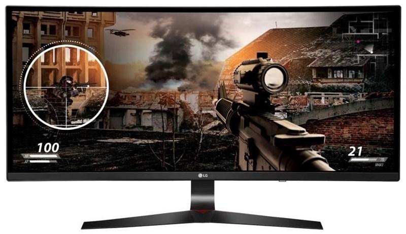 LG 34UC79G-B Curved UltraWide Monitor für Gaming (EEK: B)