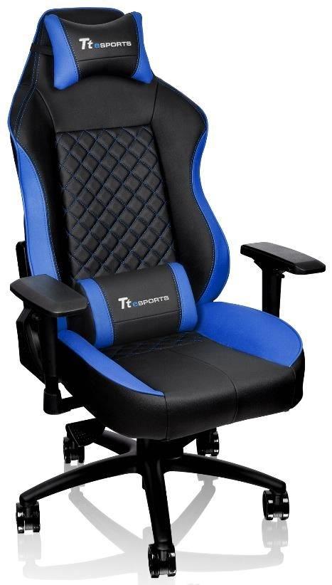 tt esports gt comfort 500 gaming stuhl blau schwarz gaming chairs computeruniverse. Black Bedroom Furniture Sets. Home Design Ideas