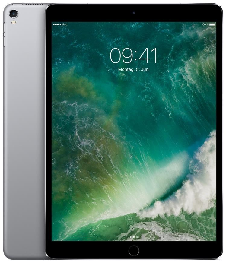 "Apple iPad Pro 10.5"" Wi-Fi + Cellular MPHG2FD/A 256GB iOS space grau"
