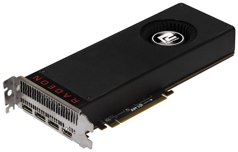 Powercolor Radeon RX VEGA 64 Air Cooled Schwarz 8GB