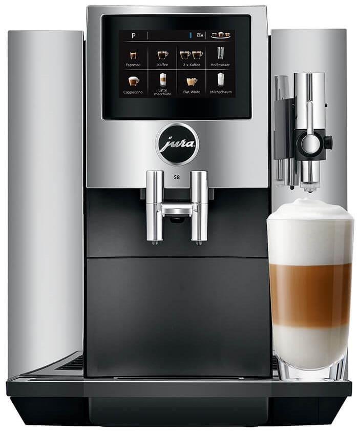 jura s8 chrom kaffeevollautomaten computeruniverse. Black Bedroom Furniture Sets. Home Design Ideas