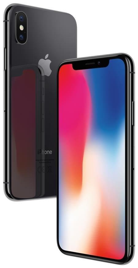Apple iPhone X 64GB iOS space grey MQAC2ZD/A