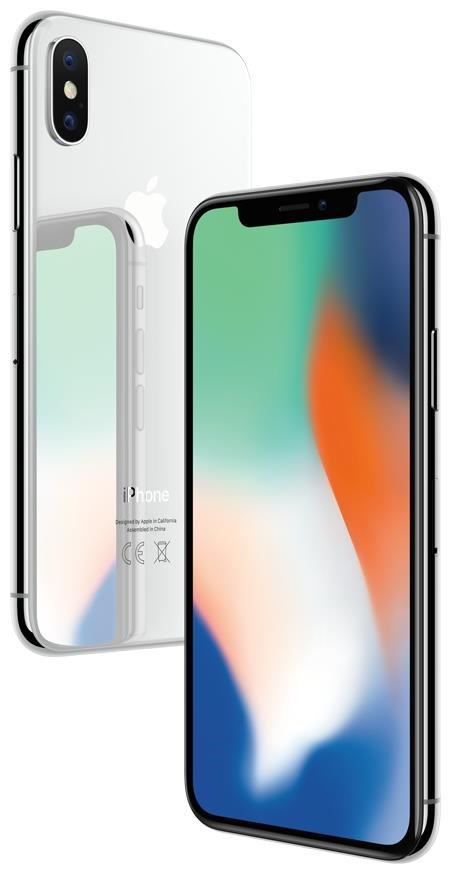 Apple iPhone X 64GB iOS silber