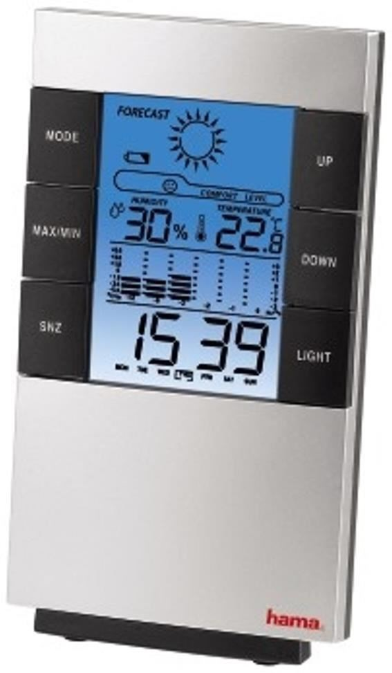 Hama LCD-Thermo-/Hygrometer TH-200 - Preisvergleich