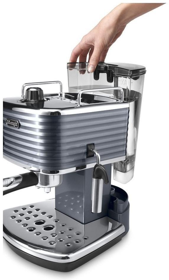 delonghi scultura ecz 351gy grau espresso machine - Delonghi Espresso Machine
