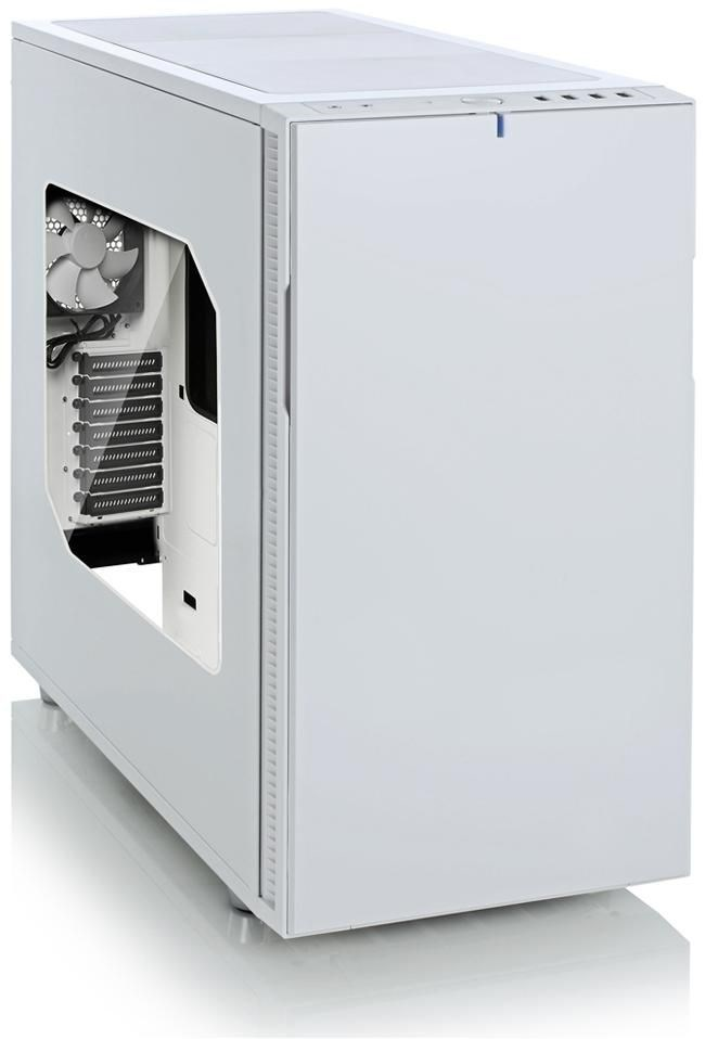fractal design define r5 white edition mit fenster pc geh use computeruniverse. Black Bedroom Furniture Sets. Home Design Ideas