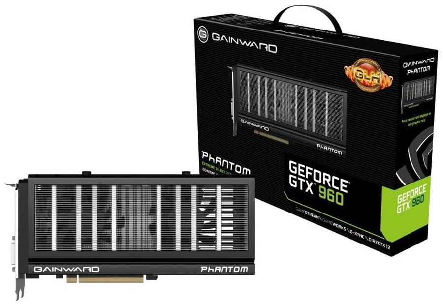 gainward gtx 960 phantom glh edition 2gb gddr5 pci. Black Bedroom Furniture Sets. Home Design Ideas