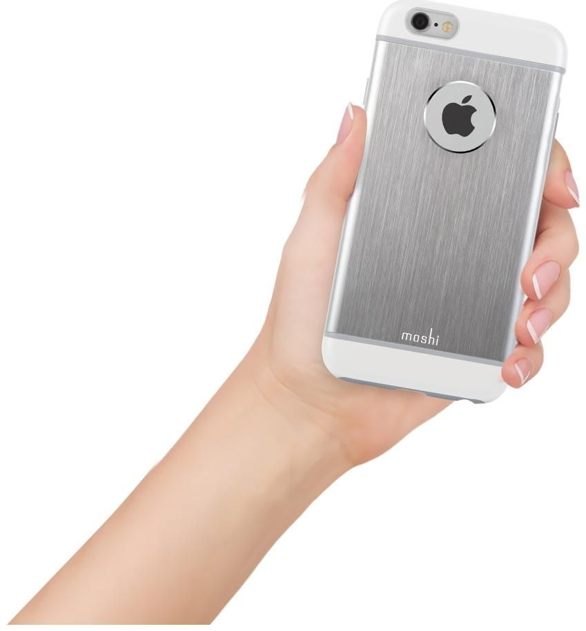 moshi iglaze armour f r iphone 6 plus silber smartphone. Black Bedroom Furniture Sets. Home Design Ideas