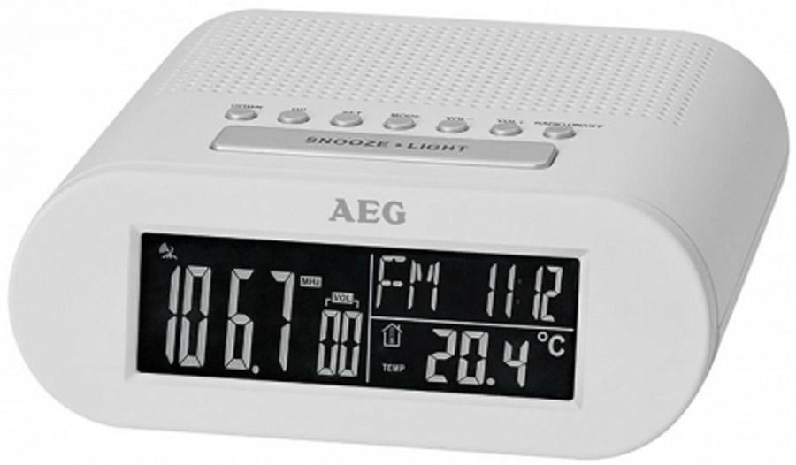 AEG MRC 4145 F Funkuhrenradio weiß