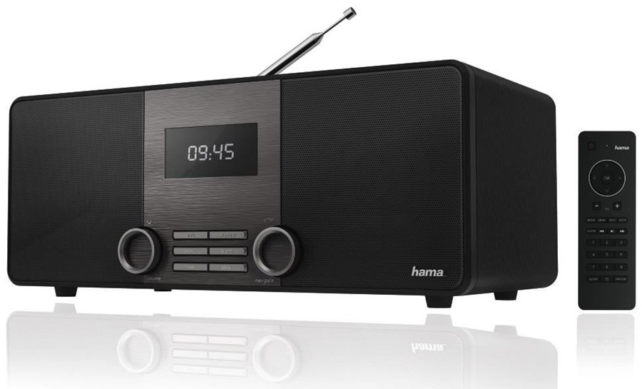Hama Digitalradio DIR3010 Internetradio/DAB+/FM/App-Steuerung 54825