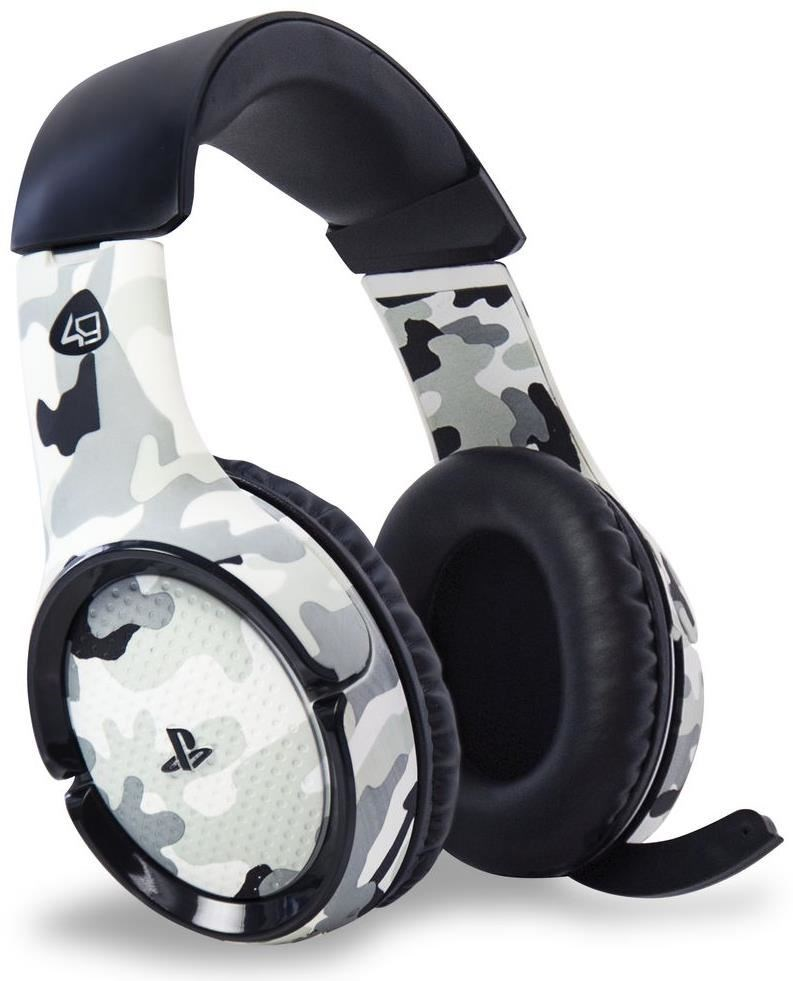 4gamers pro4 100 wireless stereo gaming headset camo ps4. Black Bedroom Furniture Sets. Home Design Ideas