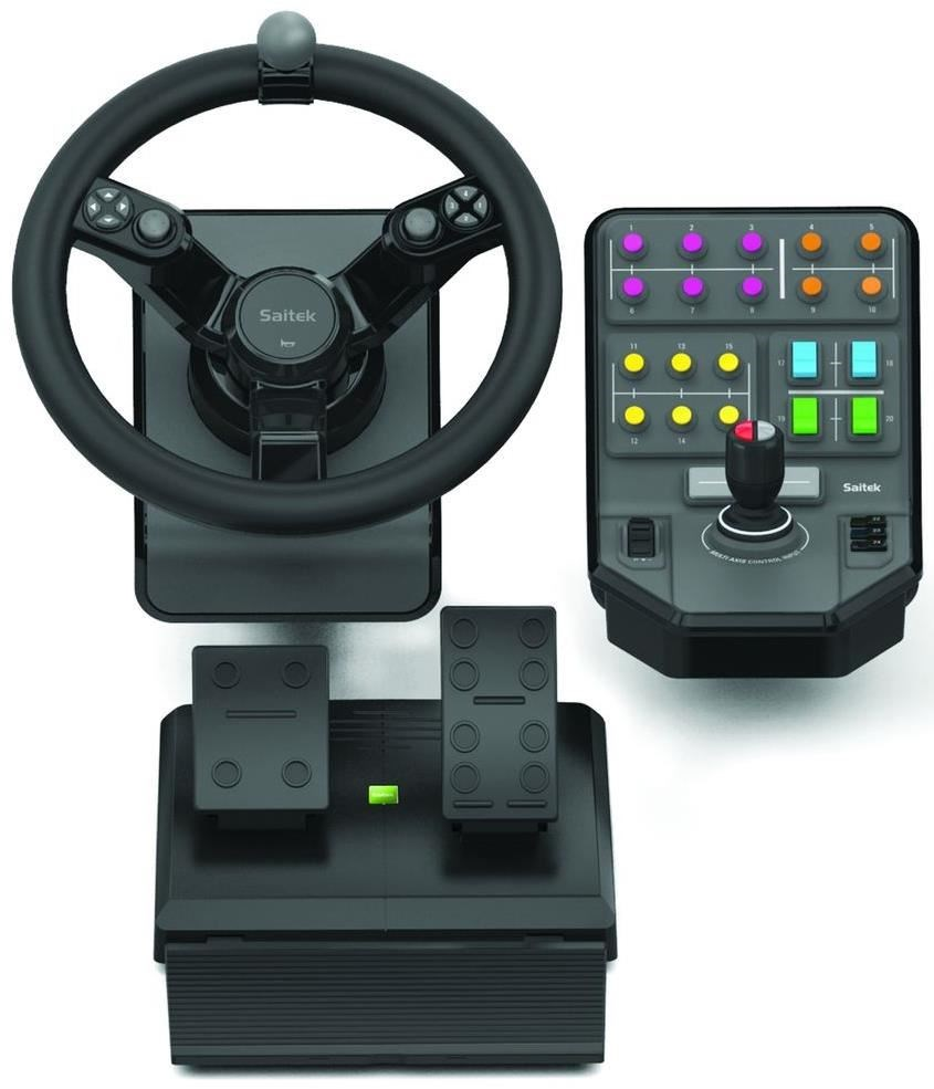 logitech g saitek farm sim controller pc usb. Black Bedroom Furniture Sets. Home Design Ideas