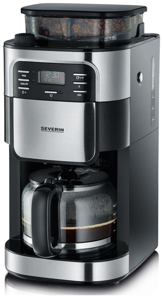 Severin KA4810 Kaffeeautomat edelstahl / schwarz