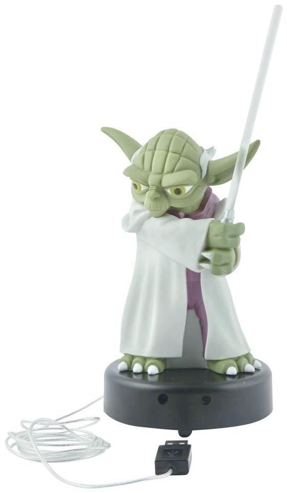 Star Wars Figur Yoda mit Lichtschwert 14 cm