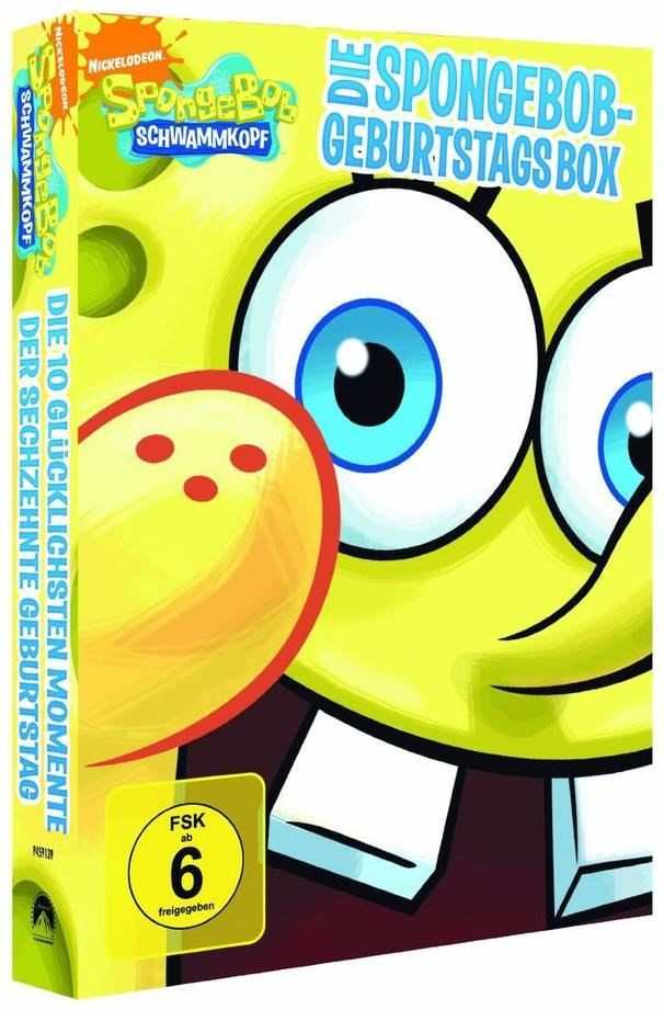 SpongeBob Schwammkopf: SpongeBob Geburtstagsbox (DVD)